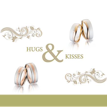 Steidinger Trauringe - Hugs & Kisses